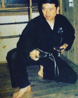 Großmeister Dr. Masaaki Hatsumi Soke Training Old