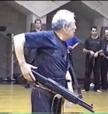 Großmeister Dr. Masaaki Hatsumi Soke modern Weapons