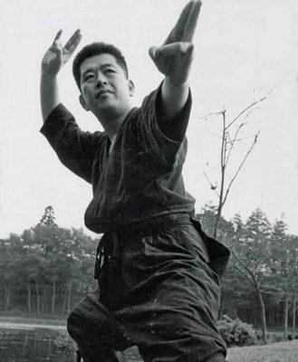 Hatsumi Sensei Training Kamae